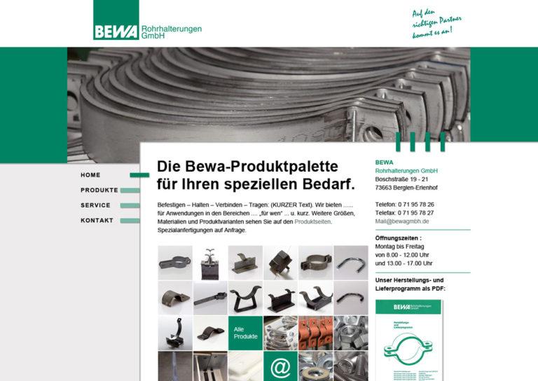 www.bewagmbh.de, Agenturauftrag