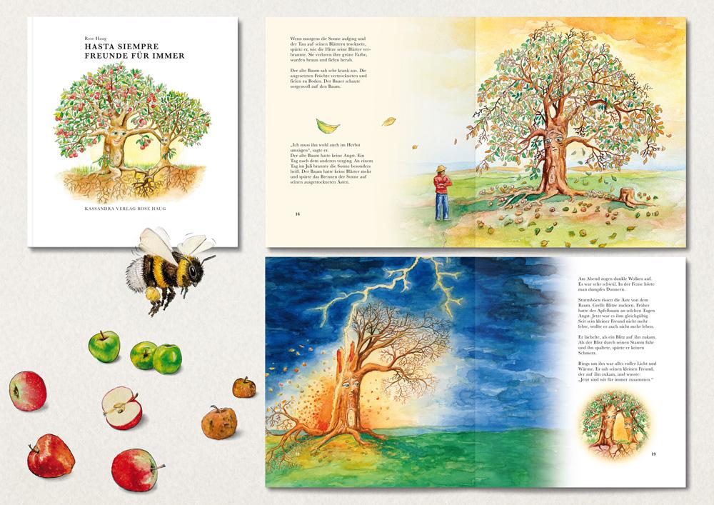 Illustrationen für den Kassandra Verlag Rose Haug