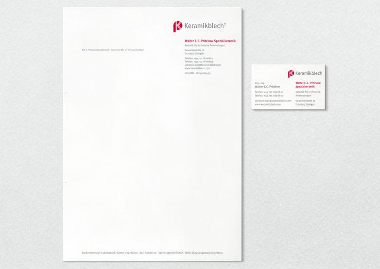 Geschäftspapiere Gestaltung