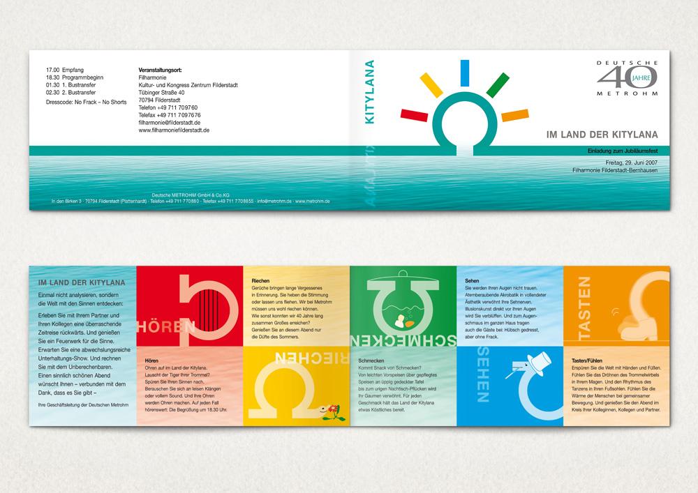 Einladung (Duftkarte)