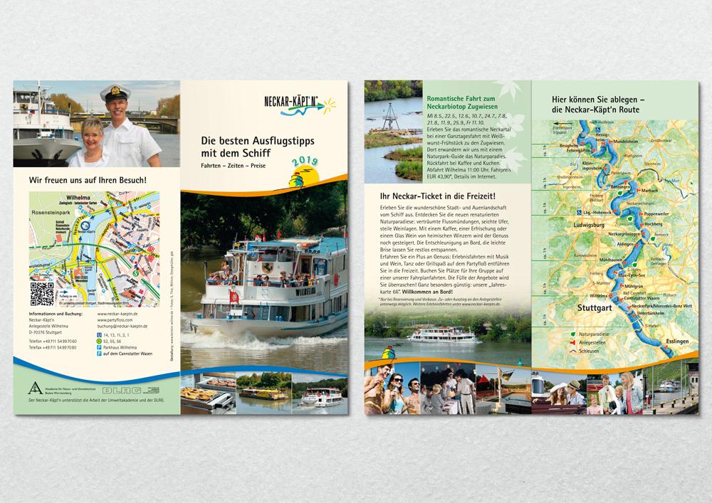Letzter Fahrplan vor Verkauf der Neckarschifffahrt