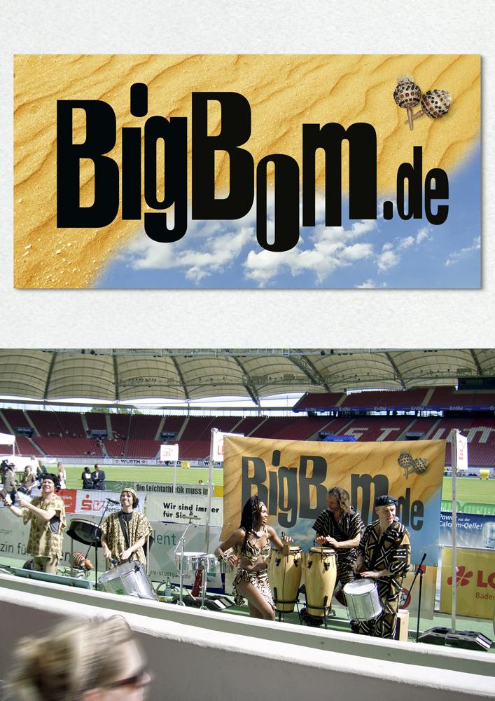 Bannergestaltung für BigBom, Till Ohlhausen