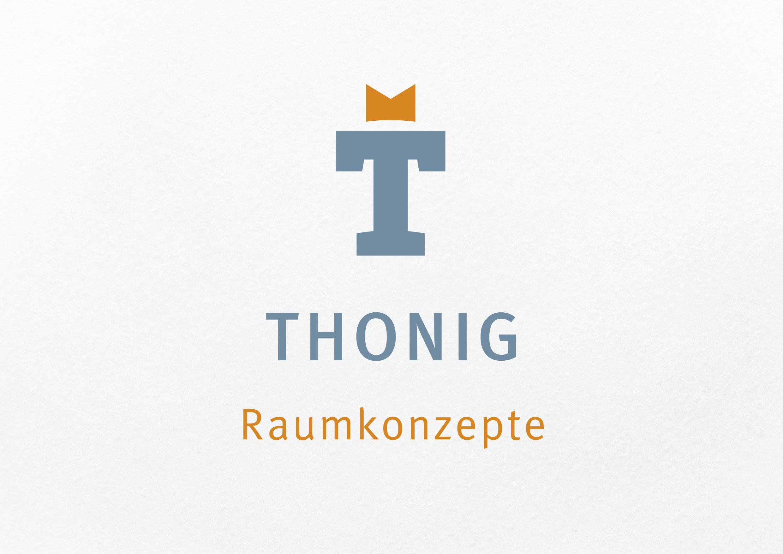 Signet / Firmenzeichen Thonig Raumkonzepte –  Signetgestaltung, thonig-raumkonzepte.de
