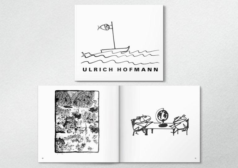 Ui Hof/ Ulrich Hofmann Buch, (im Archiv der Landesbibliothek)
